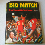 Big Match Brian Moore's World of Soccer book 1976